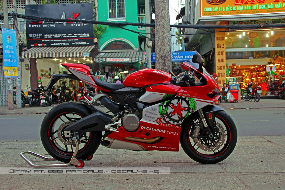 Ducati 899 panigale - decal4bike corsa - 1