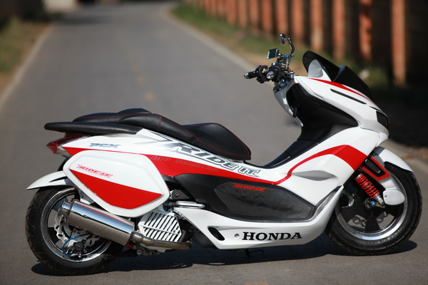 Honda pcx version nos ride it - 2