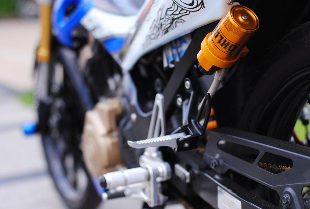 Suzuki satria f độ đầy đam mê và nhiệt huyết của biker việt - 8
