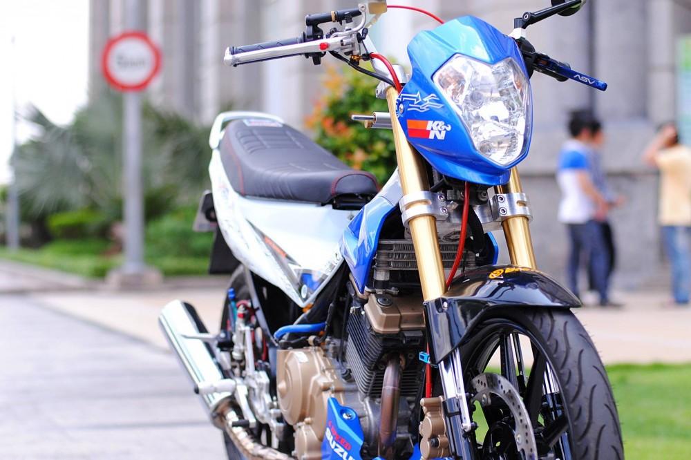 Suzuki satria f độ đầy đam mê và nhiệt huyết của biker việt - 3
