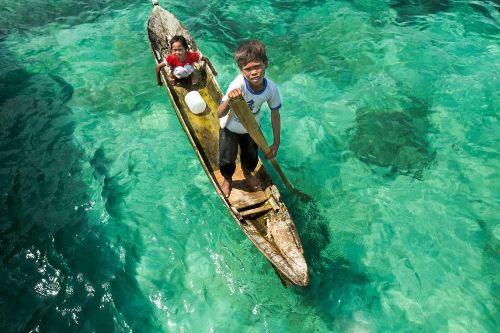 Bộ tộc người cá ở malaysia - 7