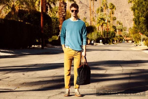 Bst thời trang nam xuân hè 2013 trẻ trung từ pull and bear - 2