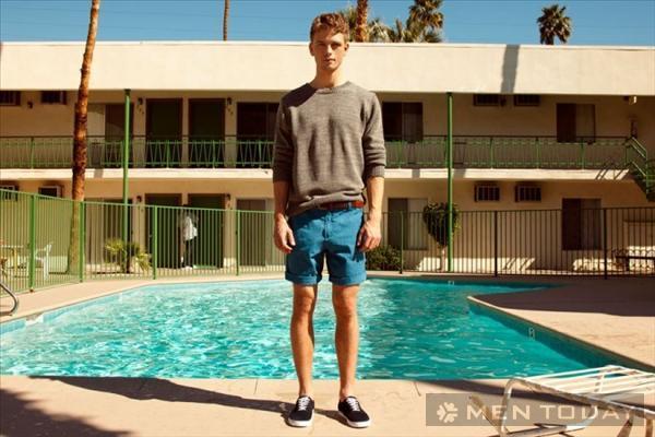 Bst thời trang nam xuân hè 2013 trẻ trung từ pull and bear - 5