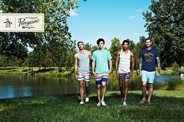 BST thời trang nam xuân/hè 2013 tươi sáng của Original Penguin
