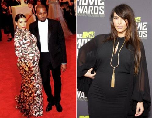 Cách giảm cân nhanh và hiệu quà sau sinh của kim kardashian - 1