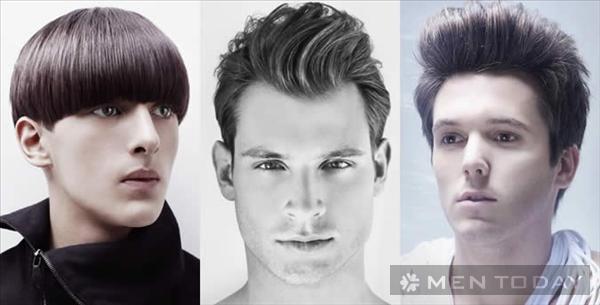 Chọn kiểu tóc nam phù hợp với gương mặt - 1