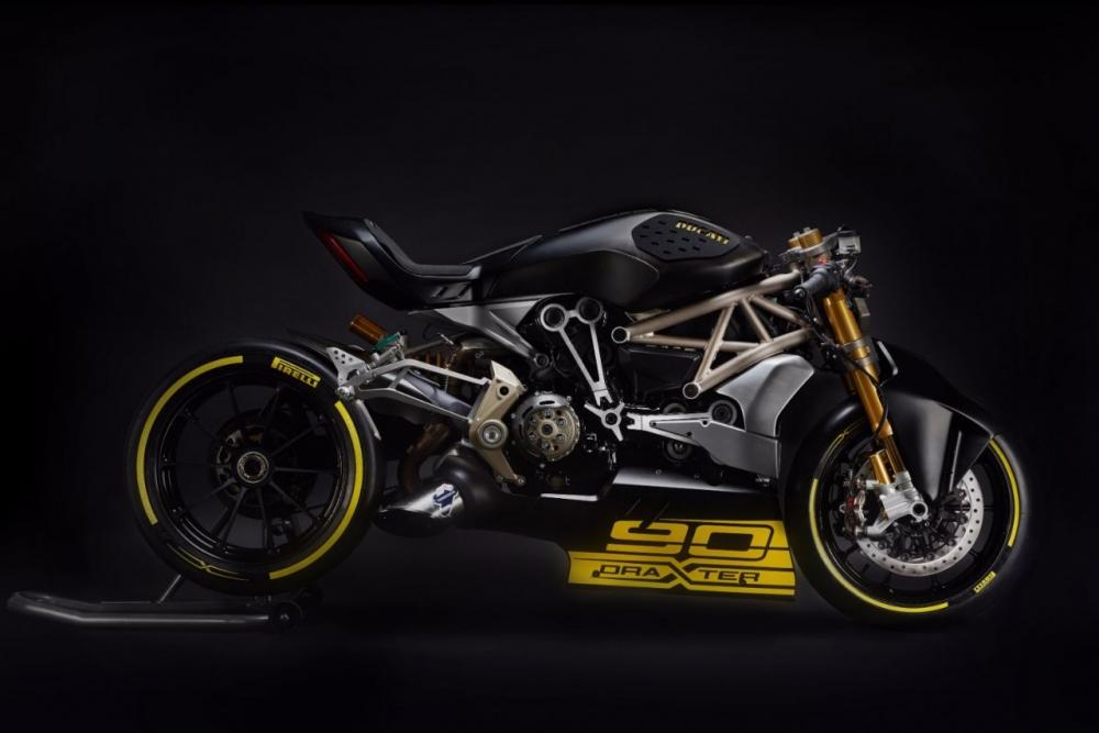 Ducati draxter concept phiên bản đua drag race của ducati xdiavel 2016 - 1