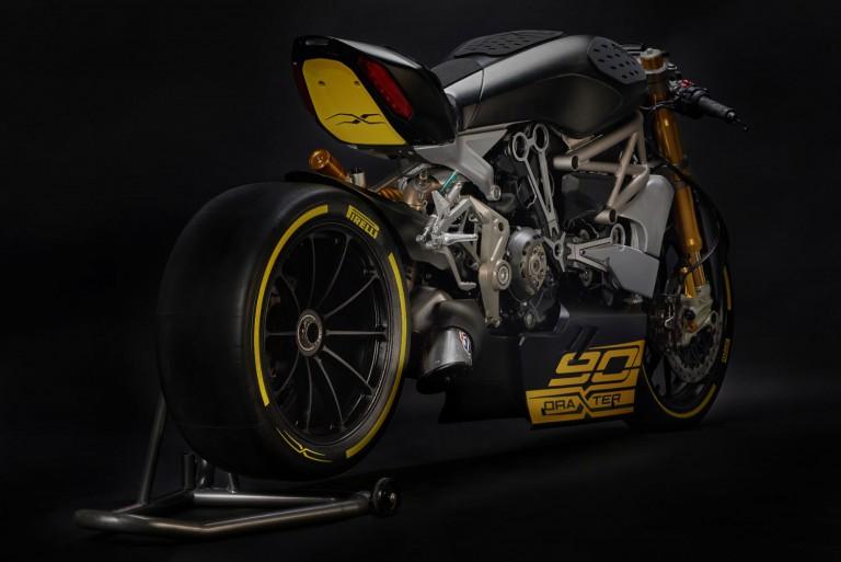 Ducati draxter concept phiên bản đua drag race của ducati xdiavel 2016 - 3