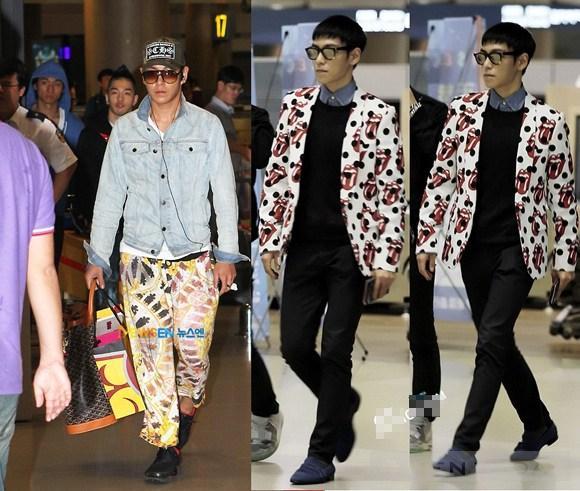 Khám phá thời trang sân bay bốn mùa của big bang - 6