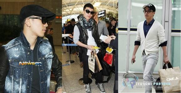 Khám phá thời trang sân bay bốn mùa của big bang - 12