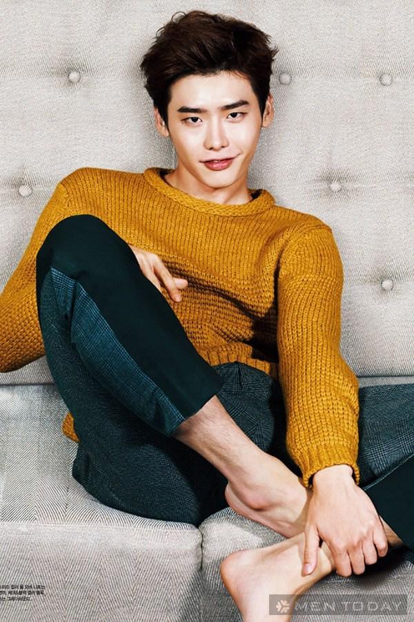 Lee jong suk đa phong cách trên các tạp chí tháng 10 - 24
