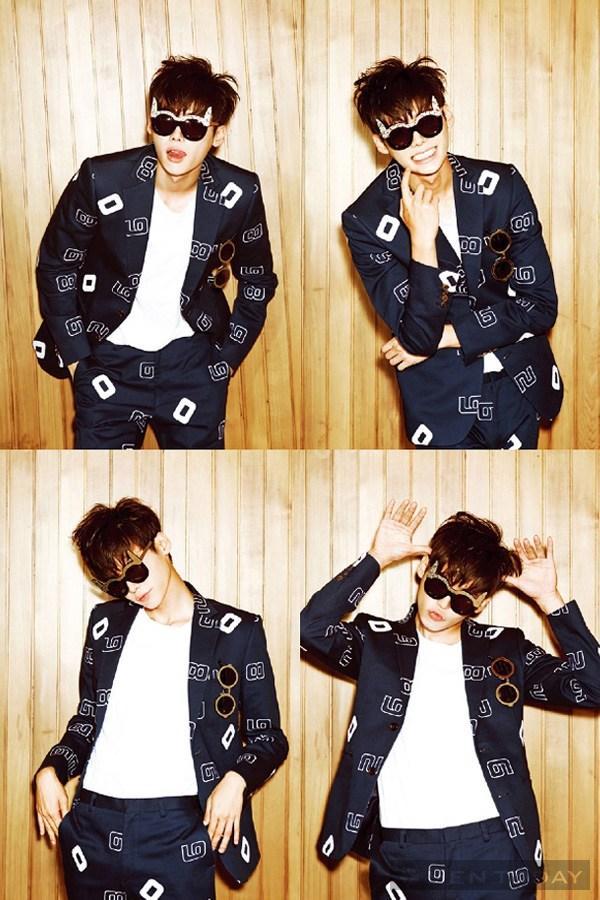 Lee jong suk đa phong cách trên các tạp chí tháng 10 - 20