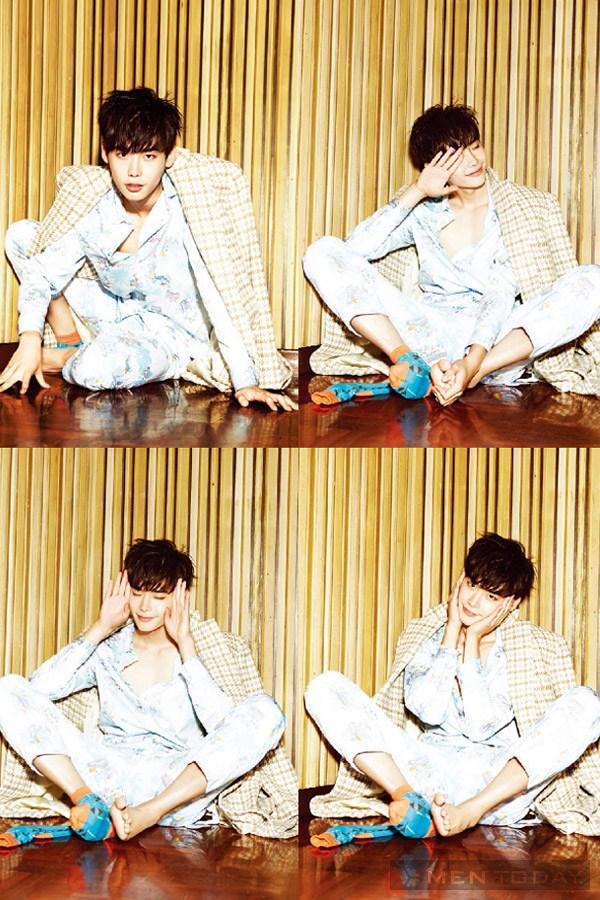 Lee jong suk đa phong cách trên các tạp chí tháng 10 - 16