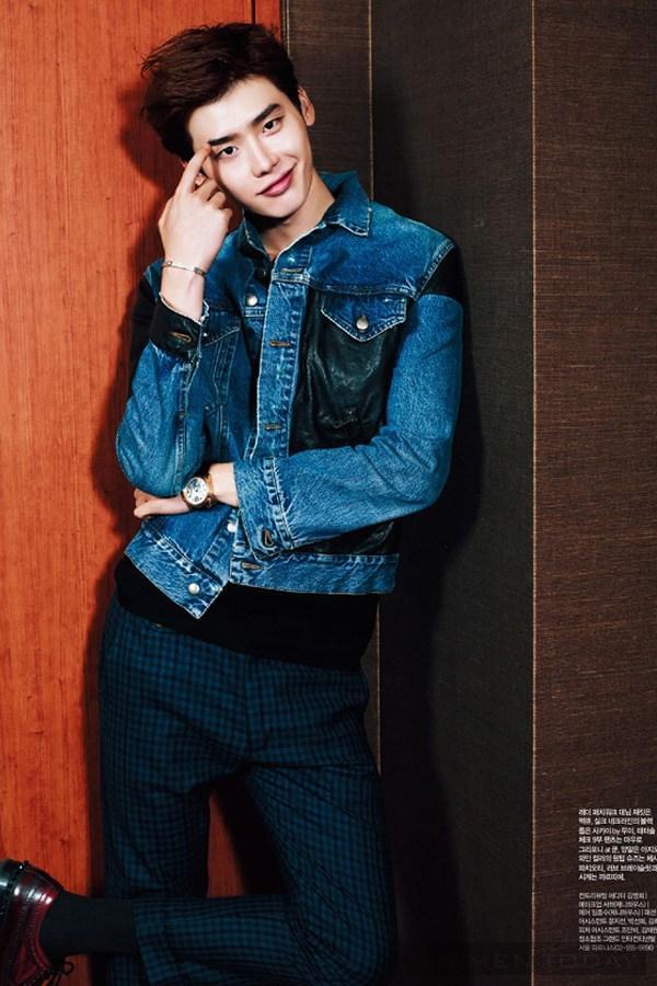 Lee jong suk đa phong cách trên các tạp chí tháng 10 - 28