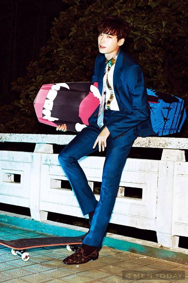 Lee jong suk đa phong cách trên các tạp chí tháng 10 - 19