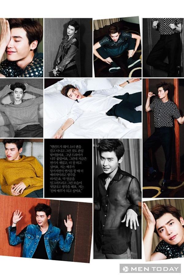 Lee jong suk đa phong cách trên các tạp chí tháng 10 - 29