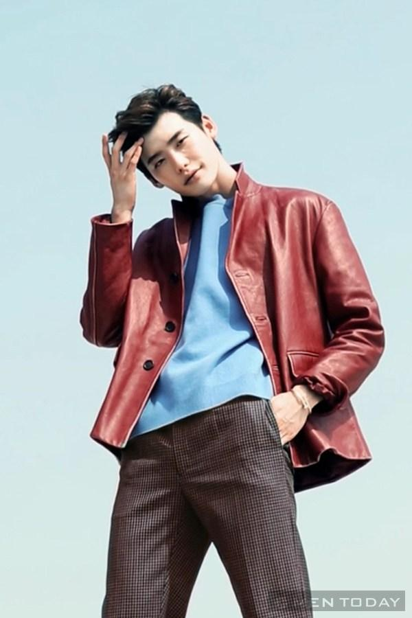 Lee jong suk đa phong cách trên các tạp chí tháng 10 - 30