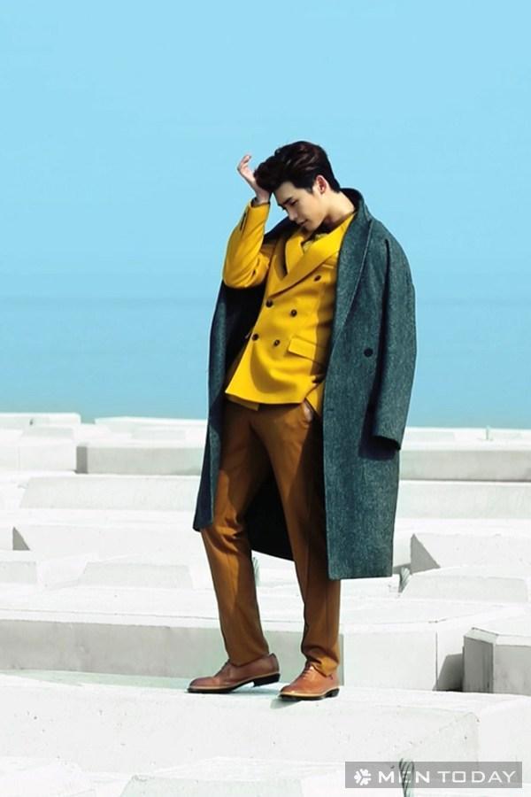 Lee jong suk đa phong cách trên các tạp chí tháng 10 - 31