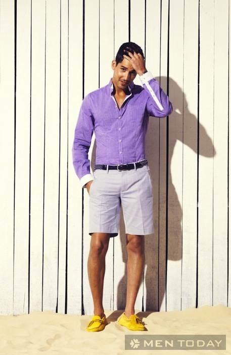 Mix đồ nam ấn tượng và cá tính cùng quần short và chinos