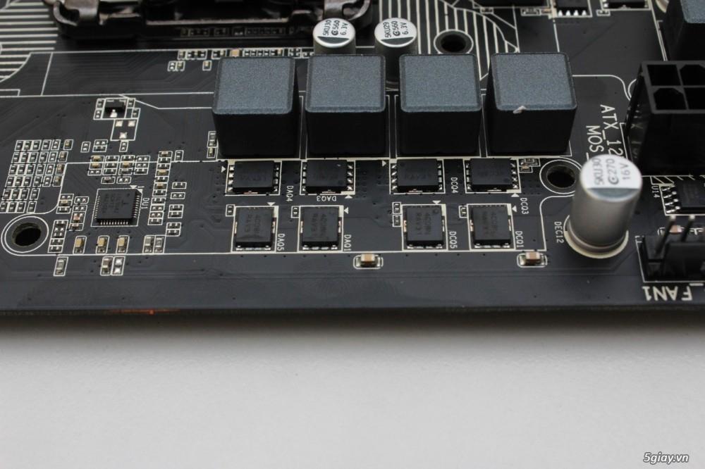 Mở hộp bo mạch chủ gigabyte g1 sniper b6 tiếp nối thành công - 18