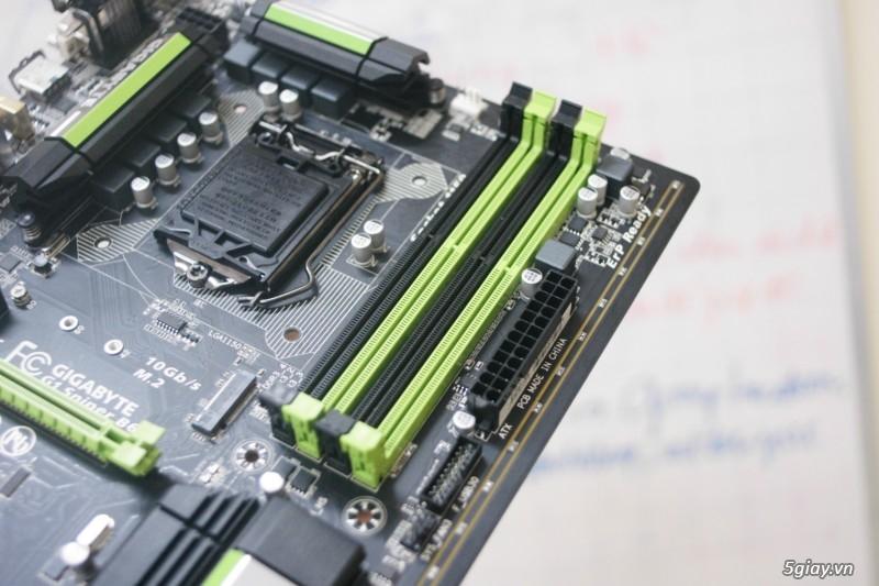 Mở hộp bo mạch chủ gigabyte g1 sniper b6 tiếp nối thành công - 24