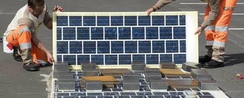 Pháp tính làm 1000 km đường phủ pin mặt trời - 1