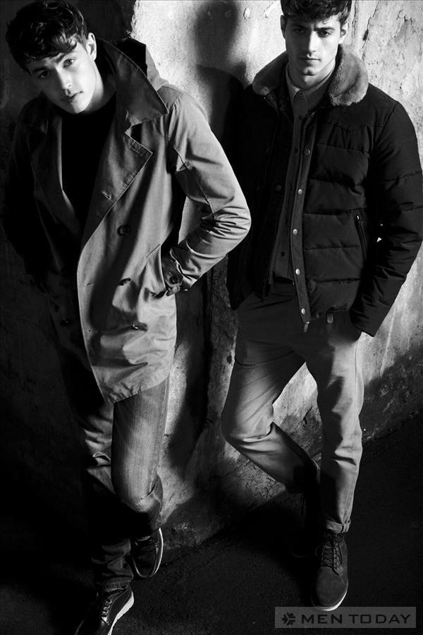 Phong cách casual từ bst Thu đông của Pull & Bear