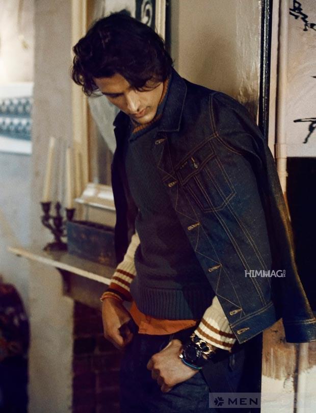 Phong cách Vintage cho chàng trai mùa thu đông