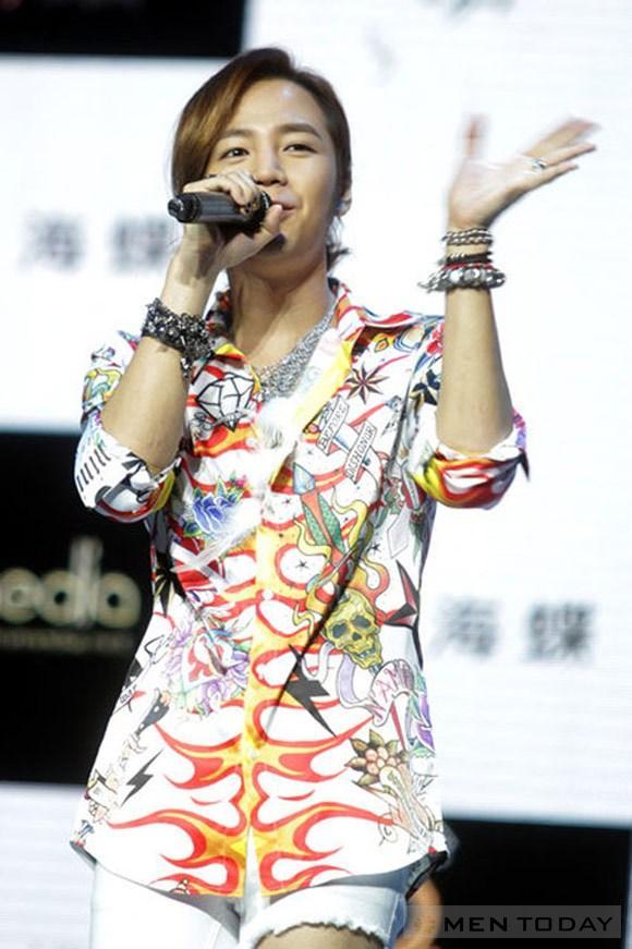 Style rách tả tơi của jang geun suk - 5