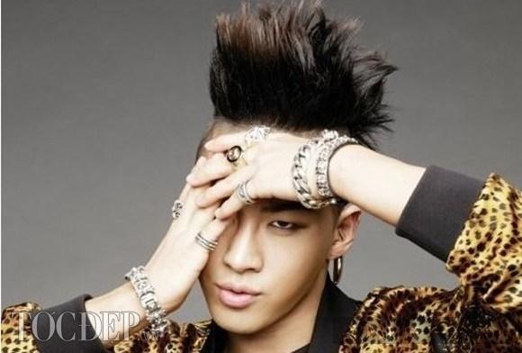 Taeyang (Big Bang) và những kiểu tóc không đụng hàng