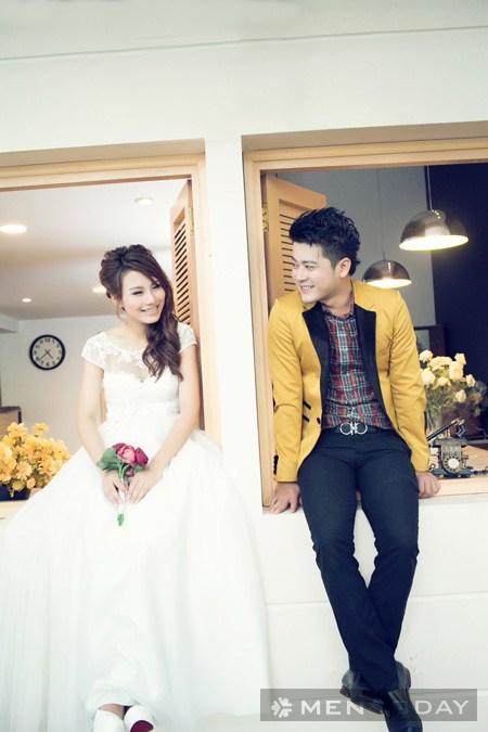 Thời trang cưới ngày hè cho cô dâu chú rể trẻ - 6