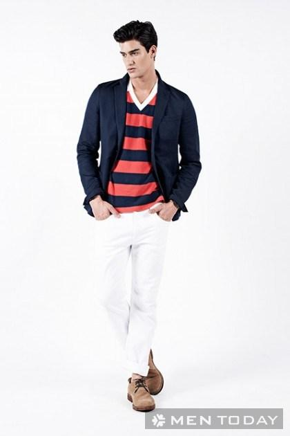 Trẻ trung với áo polo nam mùa hè từ Uniqlo và Michael Bastian