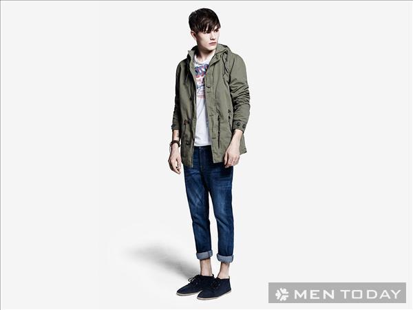 Trẻ trung với bst thời trang nam xuân hè 2013 từ Pull and Bear