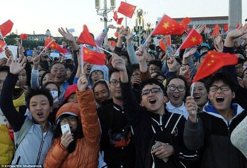 Trung quốc tắc đường vì làn sóng du lịch trong tuần lễ vàng - 6