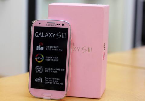 Ảnh thực tế galaxy s iii màu hồng - 2