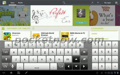 Giao diện htc sense trên android honeycomb - 5
