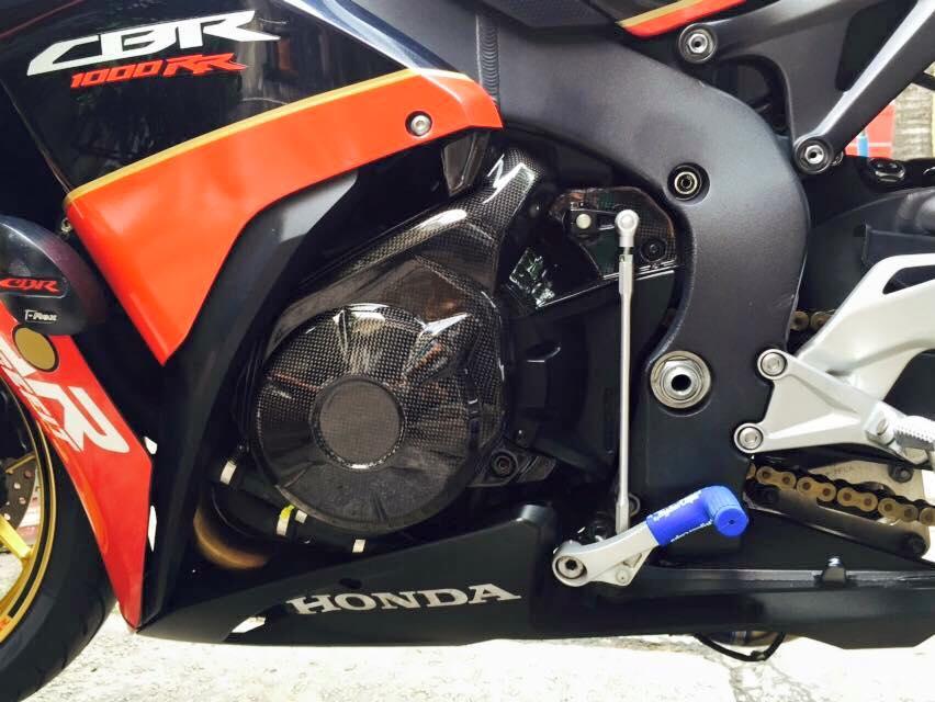 Honda cbr1000rr black edition độ đầy phong cách của biker đồng nai - 6