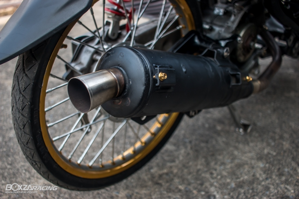 Yamaha mio phiên bản độ từ kĩ sư nước bạn - 7