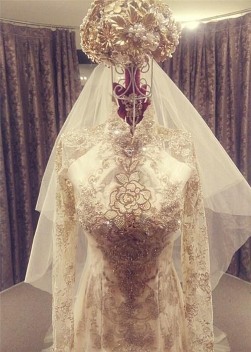 Các bộ váy cưới trị giá gần 600 triệu của thúy diễm có gì - 11