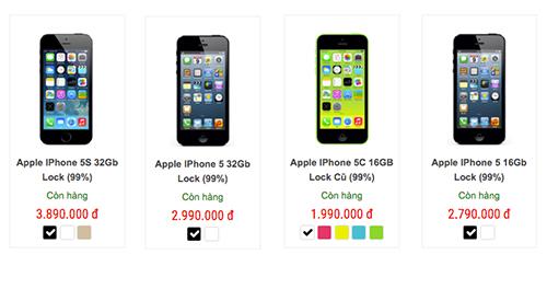 iphone 5c giá 2 triệu đồng tràn về việt nam - 1