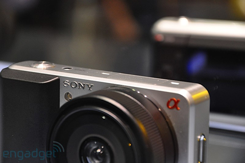 Ngắm camera ống kính rời siêu nhỏ sony - 7