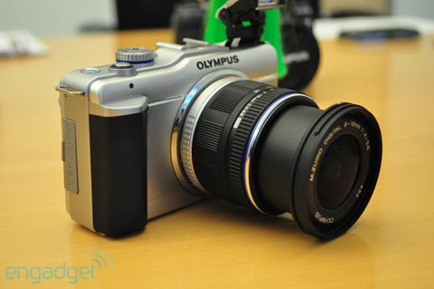 Ngắm máy số ống kính rời siêu nhỏ mới của olympus - 2
