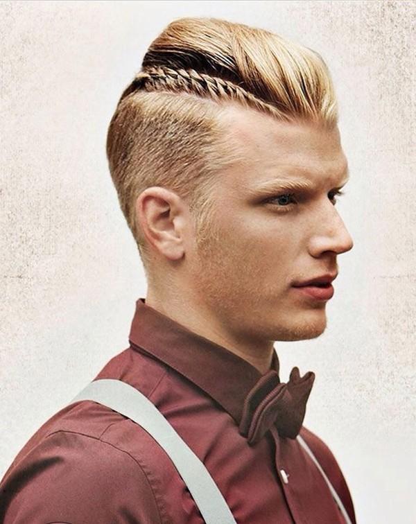 Tóc nam ngắn cạo hai bên đẹp kiểu pháp cho chàng lịch lãm 2016 - 8