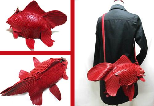 Túi cá vàng - cần tậu ngay cho những ai yêu thời trang nhật bản - 4