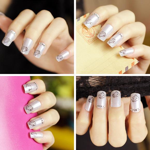 Top 15 mẫu móng tay nail hoạt hình đẹp dễ thương cho bạn gái 2017 - 3