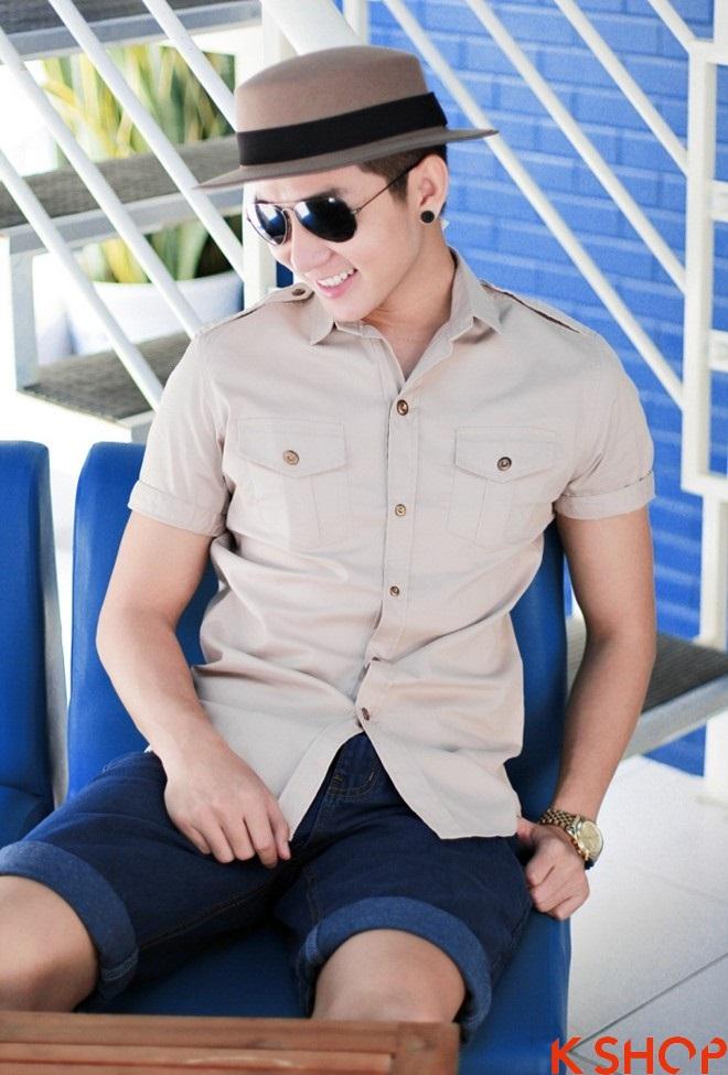 Áo sơ mi nam hàn quốc đẹp cực chất hè 2016 cho chàng trai trẻ trung - 3