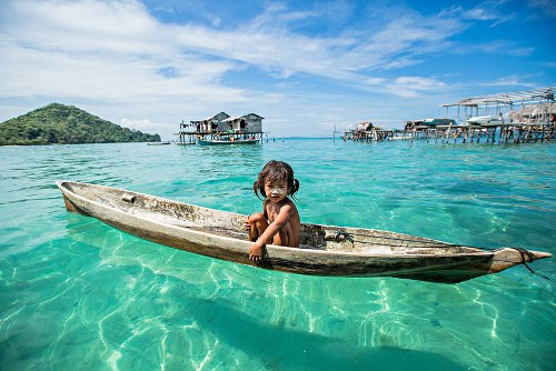 Bộ tộc người cá ở malaysia - 1