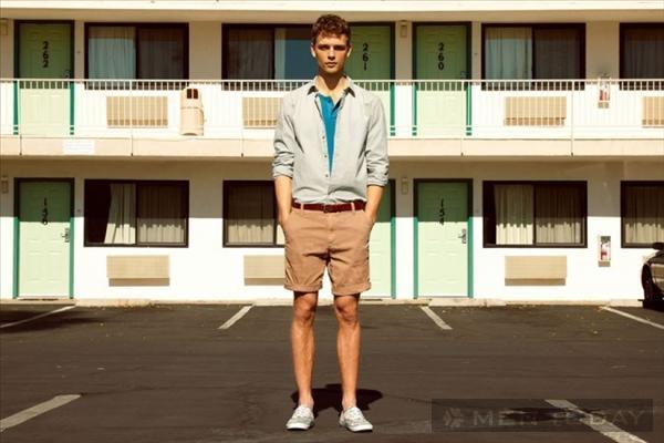 Bst thời trang nam xuân hè 2013 trẻ trung từ pull and bear - 7