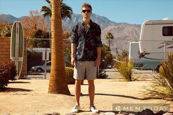 Bst thời trang nam xuân hè 2013 trẻ trung từ pull and bear - 10