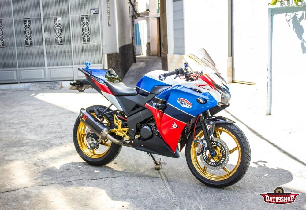 Honda cbr150 độ đầy phong cách của biker việt - 1